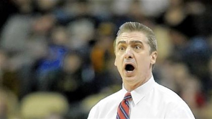 Ron Everhart Duquesne coach Ron Everhart reacts to a call Sunday at Consol Energy Center.