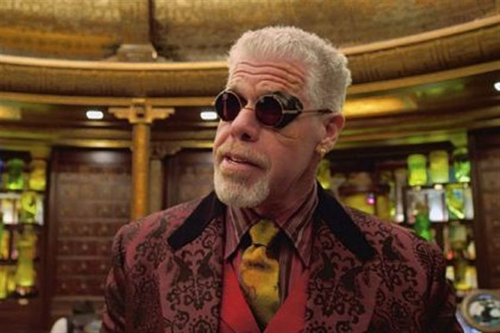 "Ron Perlman in 'Pacific Rim' Ron Perlman has no moral compass as he portrays Hannibal Chau in ""Pacific Rim."""