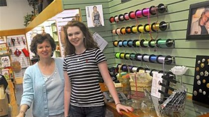Ronda Goetz and Jessica Buchman Ronda Goetz, left, and Jessica Buchman, now run the shoppe in Latrobe.