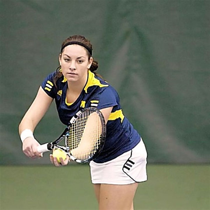Ronit Yurovsky Ronit Yurovsky has already had an impact on the Michigan tennis team.