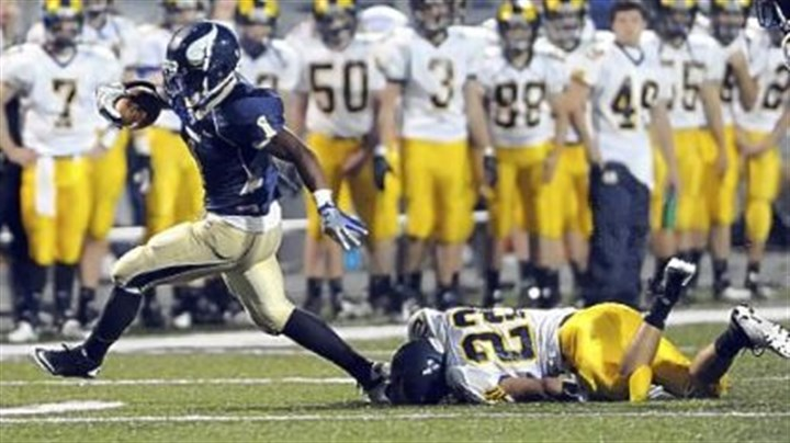 Rushel Shell Hopewell's Rushel Shell is Pennsylvania's all-time leading rusher with 9,078 yards.
