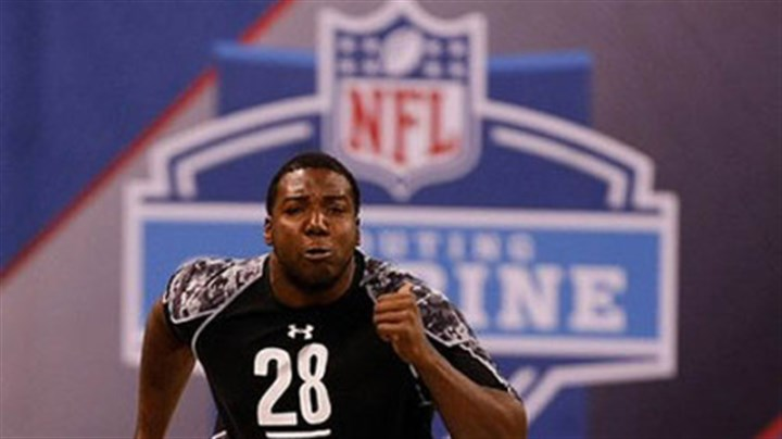 Russell Okung Oklahoma State tackle Russell Okung is expected to be a first-round pick in the NFL draft.