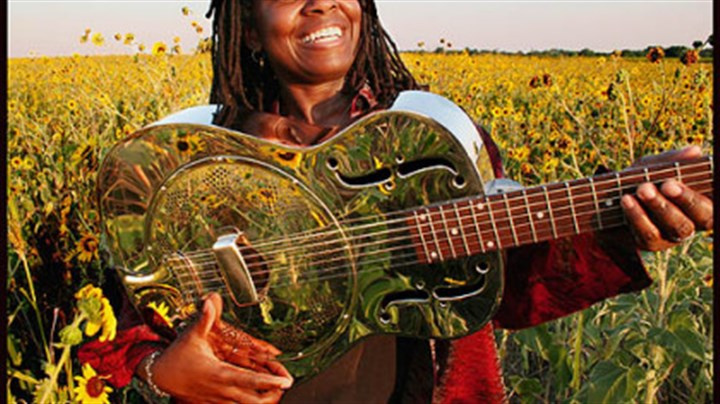 Ruthie Foster Singer Ruthie Foster will play at the Ameriserv Flood City Music Festival.