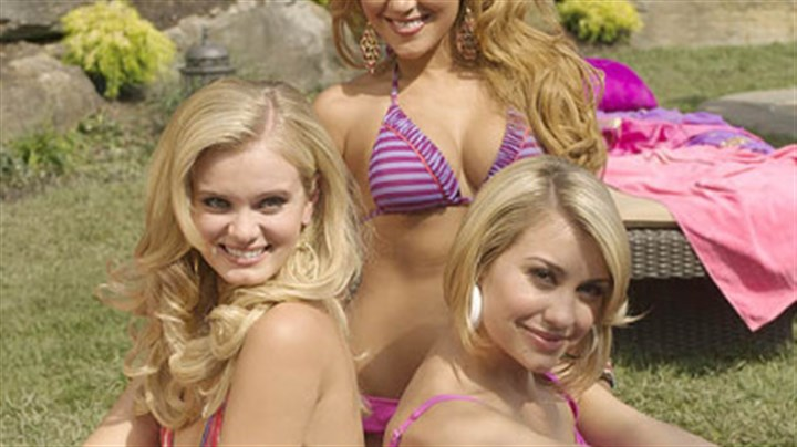Sara Paxton, Adrienne Bailoon and Chelsea Kane From left, Sara Paxton, Adrienne Bailon and Chelsea Kane.