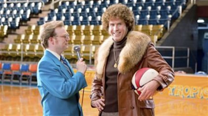 """Semi-Pro"" Will Ferrell, right, is in the minor leagues in ""Semi-Pro."""