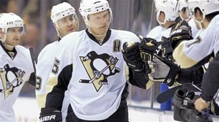 Sergei Gonchar has 259 points Sergei Gonchar has 259 points in his five seasons with the Penguins.