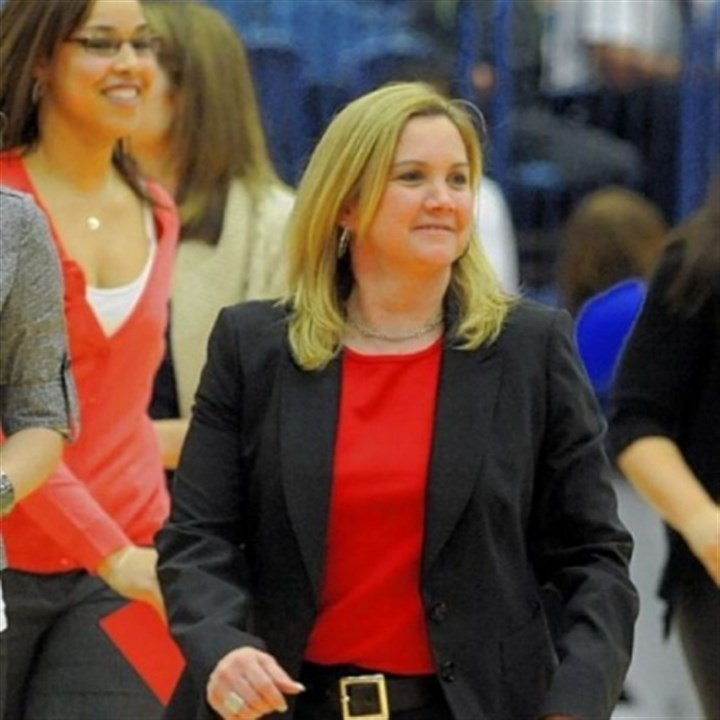 Serio Duquesne coach Suzie McConnell-Serio has the Dukes entering the conference tournament on a high note.