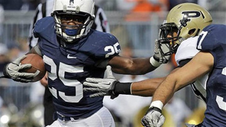 Silas Redd Silas Redd had his third consecutive 100-yard rushing day with 131 Saturday in Penn State's 23-18 victory vs. Purdue at Beaver Stadium in University Park, Pa.