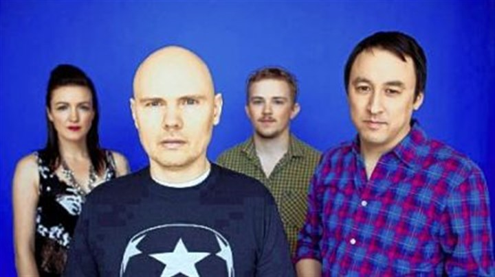"Smashing Pumpkins Smashing Pumpkins frontman Billy Corgan made use of some old influences for the group's new album ""Oceania."""