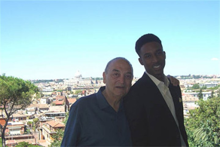 Sonny Vaccaro and Brandon Jennings Sonny Vaccaro with the Milwaukee Bucks' Brandon Jennings in Rome. Vaccaro helped Jennings sign with an Italian pro team, Lottomatica Roma, in 2008 instead of playing for an American college team for one season.