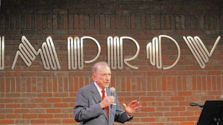 specter U.S. Sen. Arlen Specter performs at the Pittsburgh Improv at The Waterfront in Homestead last night in an event organized to benefit human services programs in the county.