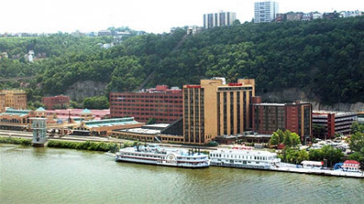 stationsq1105 Station Square as seen across the Monongahela River from Downtown.