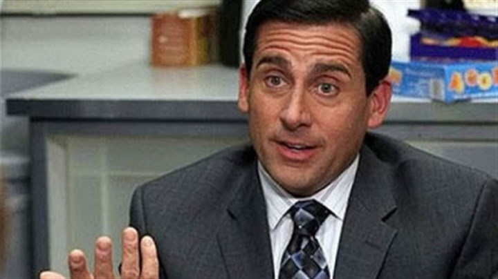 "Steve Carell Indications point to an appearance by Steve Carell's Michael Scott in ""The Office"" series finale."
