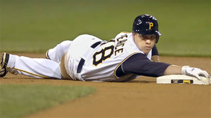 Steve Pearce The Pirates optioned first baseman/outfielder Steve Pearce to Class AAA Indianapolis yesterday.