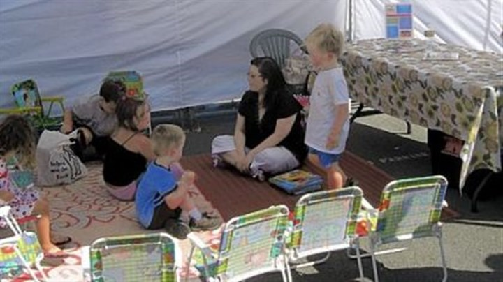 Story time at Oxbow Market Story time is held at 10 a.m. Tuesdays and Saturdays at the Oxbow Market.