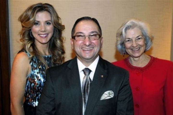 Susan Klaich, Tony Harb and Ellen O'Brien Susan Klaich, Tony Harb and Ellen O'Brien.