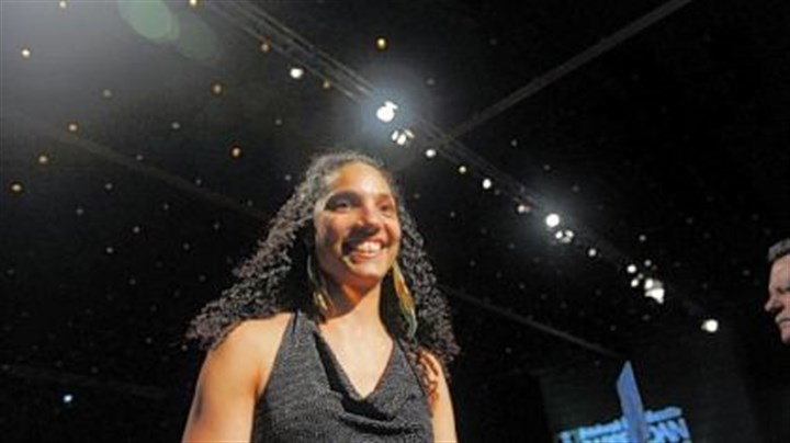 Tammy Spencer honored Tammy Spencer and the Pittsburgh Passion were honored as Sportswomen of the Year.