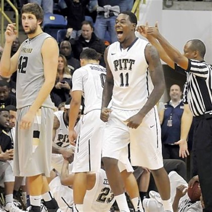TaylorOakland.jpg Senior post player Dante Taylor is playing some of the best basketball of his up-and-down career at Pitt.