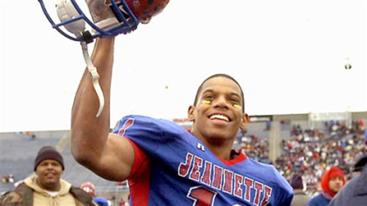 Terrelle Pryor In high school at Jeannette, Terrelle Pryor was the PG's Player of the Year.