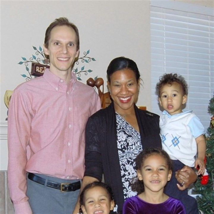 Teter family The Rev. Aaron Teter and family: wife Ayana; daughters Naomi, 5 and Evangeline, 7; and son Ezra (3).