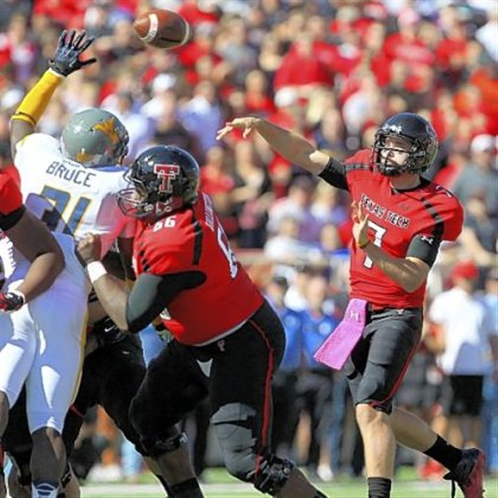 Texas Tech Texas Tech's Seth Doege won the quarterback battle with 499 yards passing and six touchdowns.