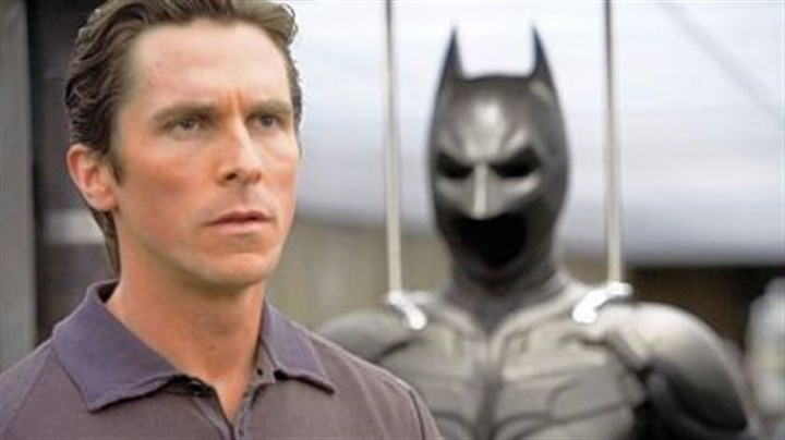 """The Dark Knight"" Christian Bale as Bruce Wayne in ""The Dark Knight."""