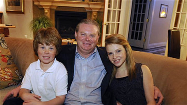 The Kossmans Curtis Kossman and his son, David, 9, a third-grader, and his daughter, Lauren, 13, a seventh-grader, are all dyslexic. Mr. Kossman and his wife are part of a group planning a charter school in Pittsburgh for students with dyslexia.