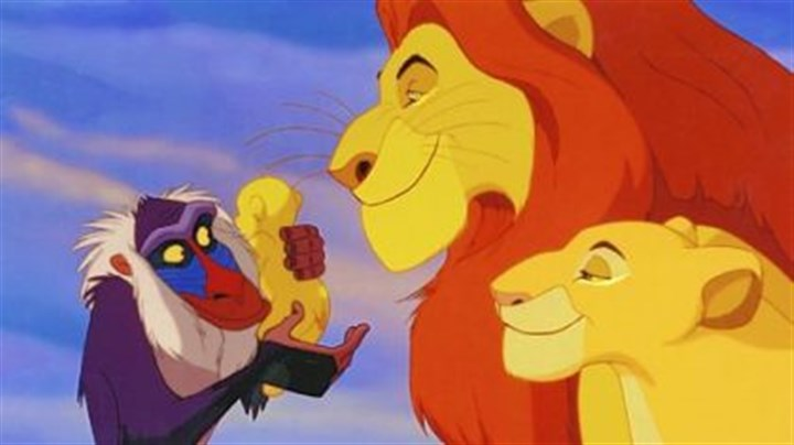 """The Lion King"" movie The 1994 animated Disney movie ""The Lion King"" will play in 3-D in a limited run in September"