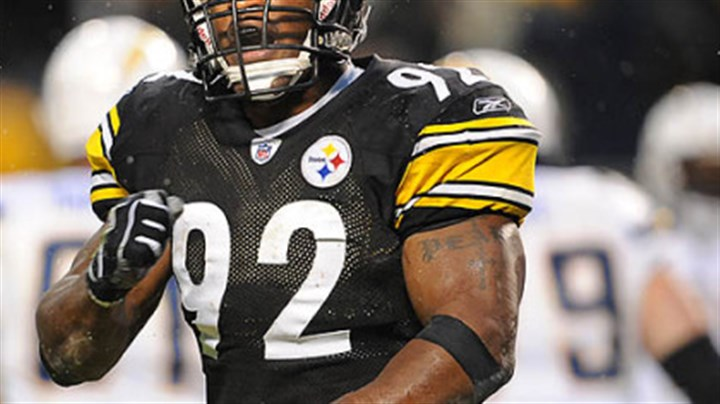 The Man Steelers' James Harrison
