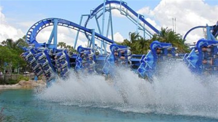 Over the edge: Central Florida roller coasters twist and ...