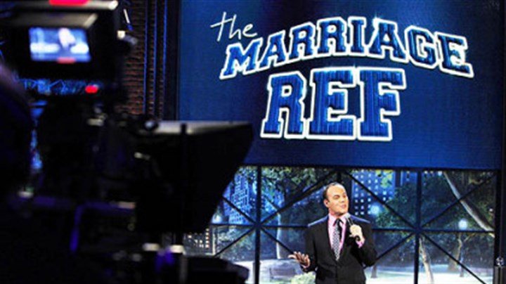 """The Marriage Ref"" Comedian Tom Papa will render the final verdict on ""The Marriage Ref."""