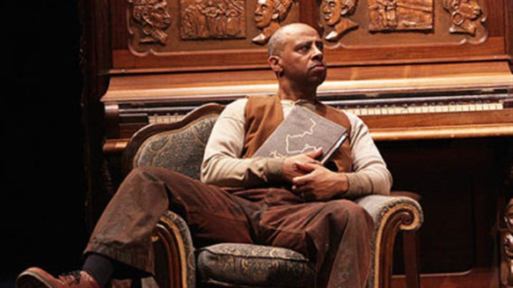 "'The Piano Lesson' : Ruben Santiago-Hudson Ruben Santiago-Hudson as Boy Willie in ""The Piano Lesson"" at Kennedy Center."