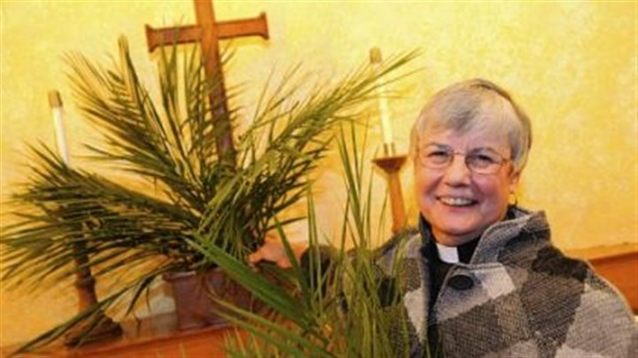 The Rev. Janet Grill The Rev. Janet Grill of St. Andrew Lutheran Church in Shadyside started using Eco-Palms in an effort to get churches to use sustainable fronds for Palm Sunday.