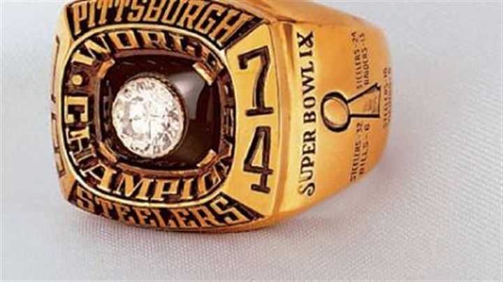 The ring The 1974 Super Bowl ring