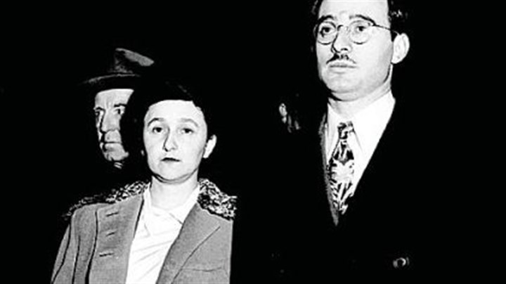 The Rosenbergs Julius Rosenberg and his wife, Ethel, are shown during their espionage trial in New York's federal courthouse in March 1951. Documents released from the National Archives last week are likely to provide further evidence that they were guilty of spying for the Soviet Union. The Rosenbergs were convicted of the charges and were electrocuted on June 19, 1953.
