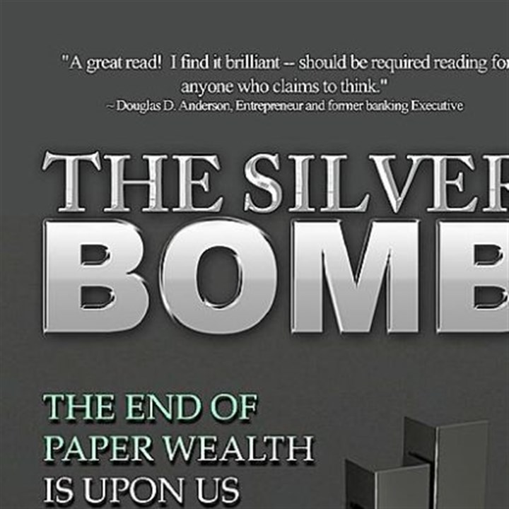 The Silver Bomb The Silver Bomb book, written by Michael MacDonald and Christopher Whitestone.