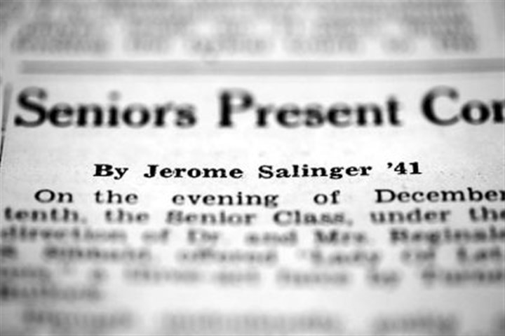 theoretical Salinger review A 1938 theoretical review written by J.D. Salinger in Ursinus College's newspaper.