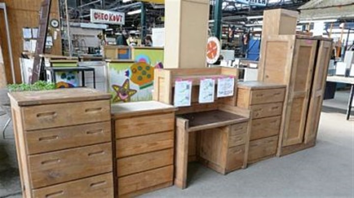 This End Up furniture What a buy: five pieces of This End Up furniture for $175. They also can be purchased separately.