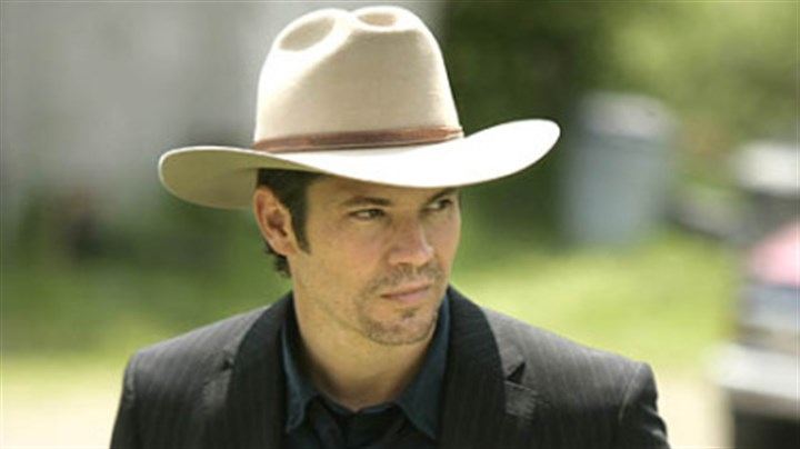 "Timothy Olyphant Timothy Olyphant stars in FX's ""Justified"" as a deputy U.S. marshal who is a speak-softly-and-carry-a-big-stick kind of guy."