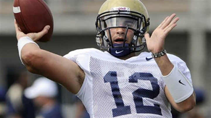 "Tino Sunseri Pitt quarterback Tino Sunseri: ""I don't feel pressure."""