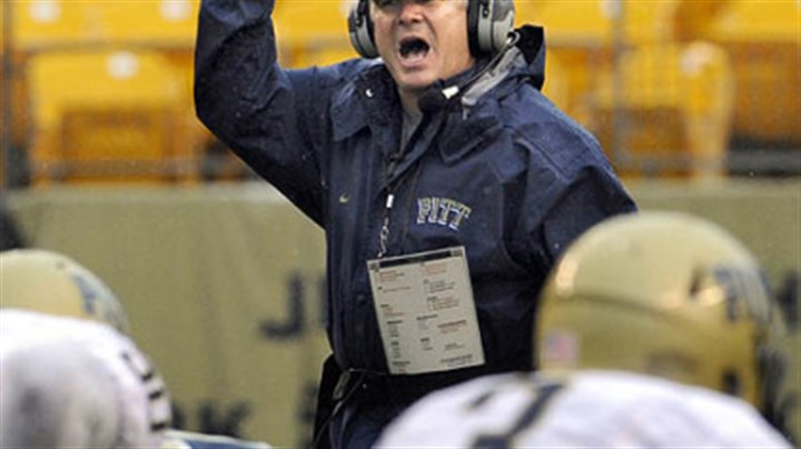 Todd Graham Pitt head coach Todd Graham yells during the Blue-Gold game at Heinz Field Saturday.