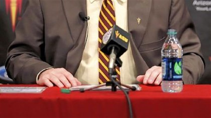 Todd Graham Even as the news was still sinking in in Pittsburgh, Todd Graham was being introduced by Arizona State in a late afternoon news conference Wednesday in Tempe, Ariz.