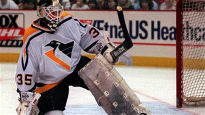 Tom Barrasso Former Penguins goaltender Tom Barrasso will be inducted into the U.S. Hockey Hall of Fame.