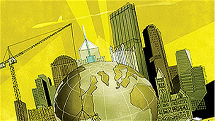 Top 50 - Global Pittsburgh Global Pittsburgh (Detail of illustration)
