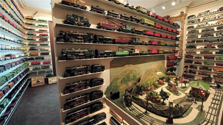 Train collection John DeSantis owns the 1906 prototype for all Lionel ...: http://www.post-gazette.com/lifestyle/2008/11/29/Get-your-ticket-punched-for-this-North-Side-stop/stories/200811290137