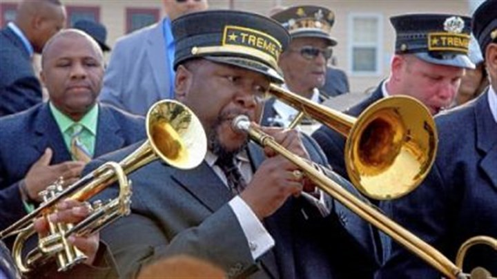 """Treme"" Wendell Pierce plays Antoine Batiste, a musician dealing with the aftermath of Hurricane Katrina, in HBO's ""Treme."""