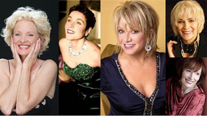 Trust Cabaret Clockwise from left: Christine Ebersole, Christine Andreas, Elaine Paige, Betty Buckley and Karen Akers.