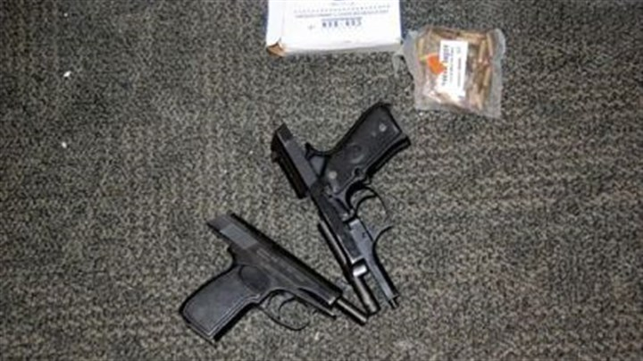 Two guns John Shick used Two guns John Shick used in the deadly shooting at Western Psychiatric Institute and Clinic of UPMC on March 8.