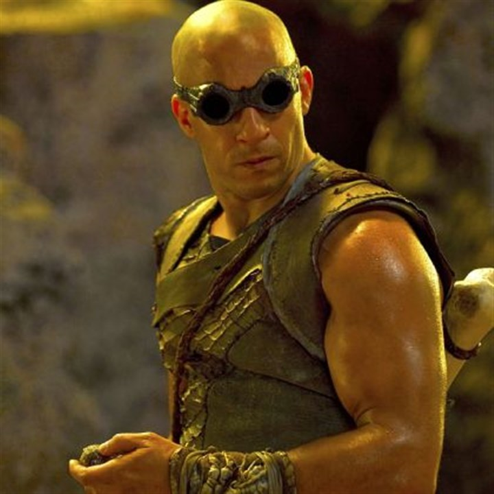 "Vin Diesel Vin Diesel -- As the antihero Riddick, he takes viewers through a slow, unexciting thriller lacking the edge-of-the-seat suspense of ""Pitch Black."""