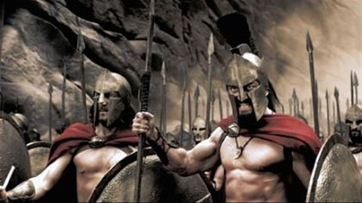 "Vincent Rega and Gerard Butler Vincent Regan and Gerard Butler in ""300."" The is Gerard Butler's signature role."